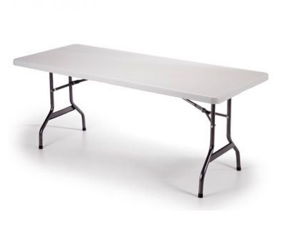 Tavoli In Resina Pieghevoli.Snodec Tavolo Tavolino Pieghevole In Dura Resina 244x76xh74 Cm Per