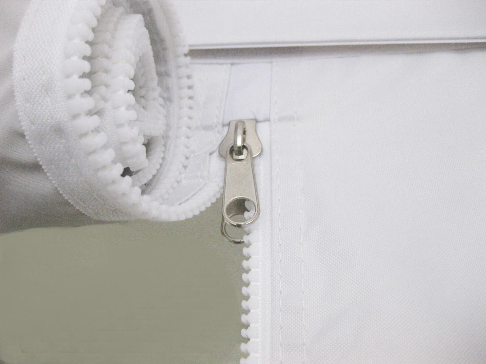 Gazebo pieghevole bianco alluminio mm con teli laterali