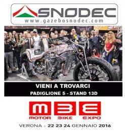 GAZEBOSNODEC al motor BIKE Verona 2016